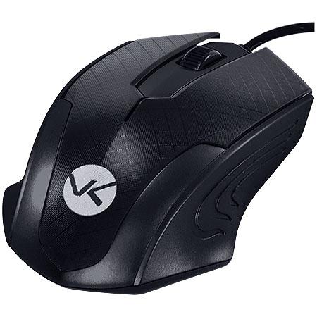 Mouse Optico PS2 MB70 1200DPI Preto 23820 - Vinik