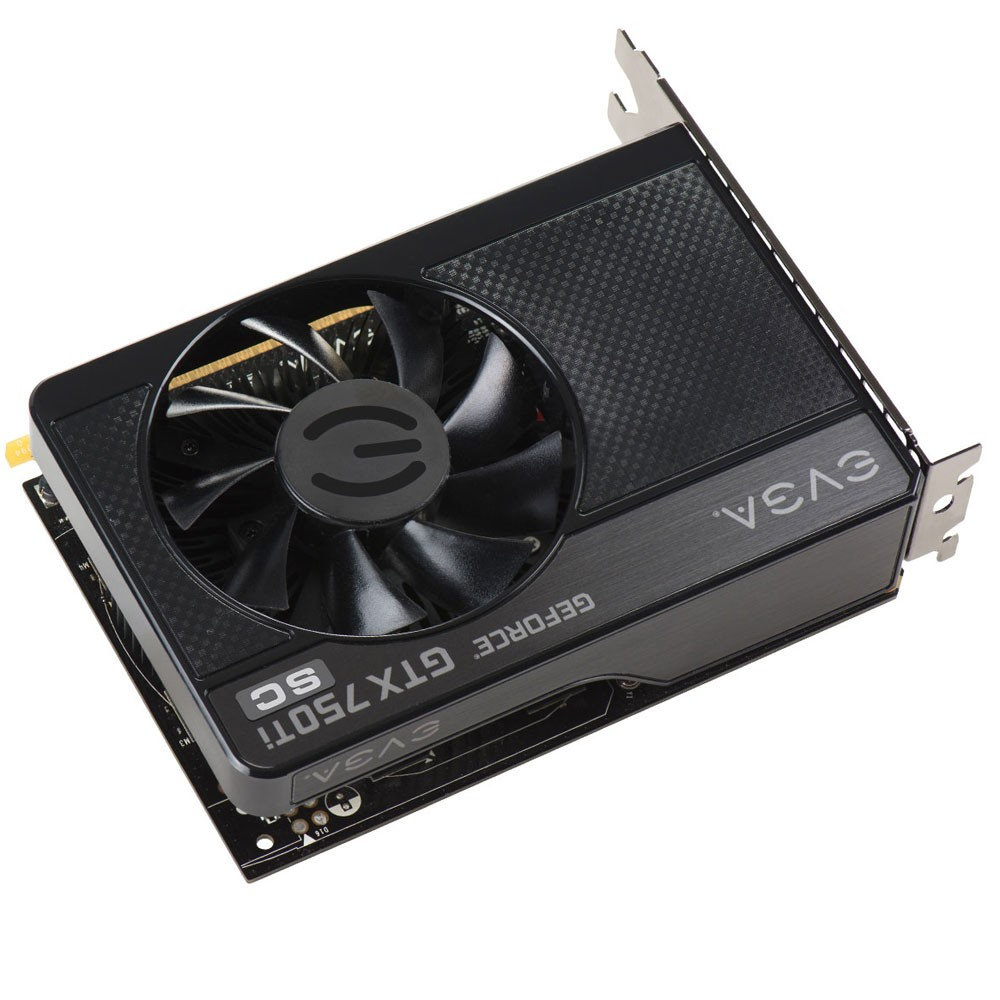 Placa de Vídeo Geforce GTX750 Ti SC 1GB 128Bits DDR5 01G-P4-3752-KR - EVGA