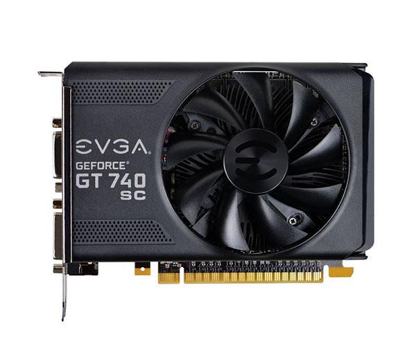 Placa de Vídeo Geforce GT740 SC 1GB DDR5 128Bits 01G-P4-3743-KR - EVGA