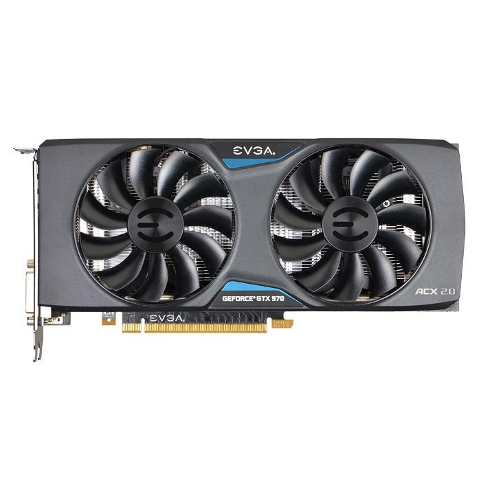 Placa de Víde Geforce GTX970 4GB SC ACX DDR5 256 Bits 04G-P4-2974-KR - EVGA