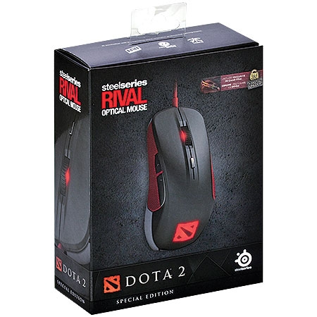 Mouse Óptico Rival Dota 2 Edition 62273 - SteelSeries