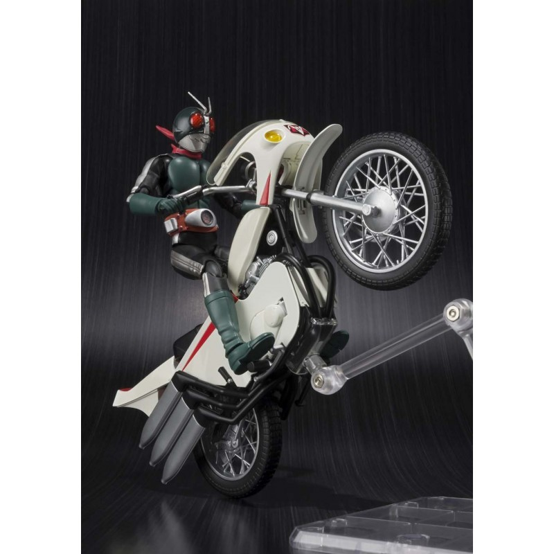 Kamen Rider Old v2 and cyclone remodeling - SH FIGUARTS