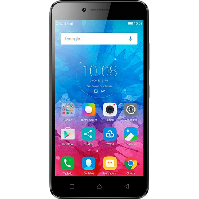 Smartphone Vibe K5, Octa Core , Android 5.1, Tela Full HD 5, 13MP, 16GB, 4G, Dual Chip, Grafite - Lenovo