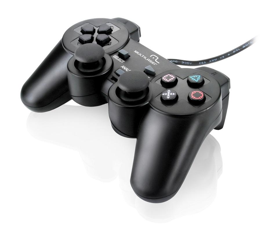 Controle 3 em 1 JS071 PS3/PS2/PC USB - Multilaser