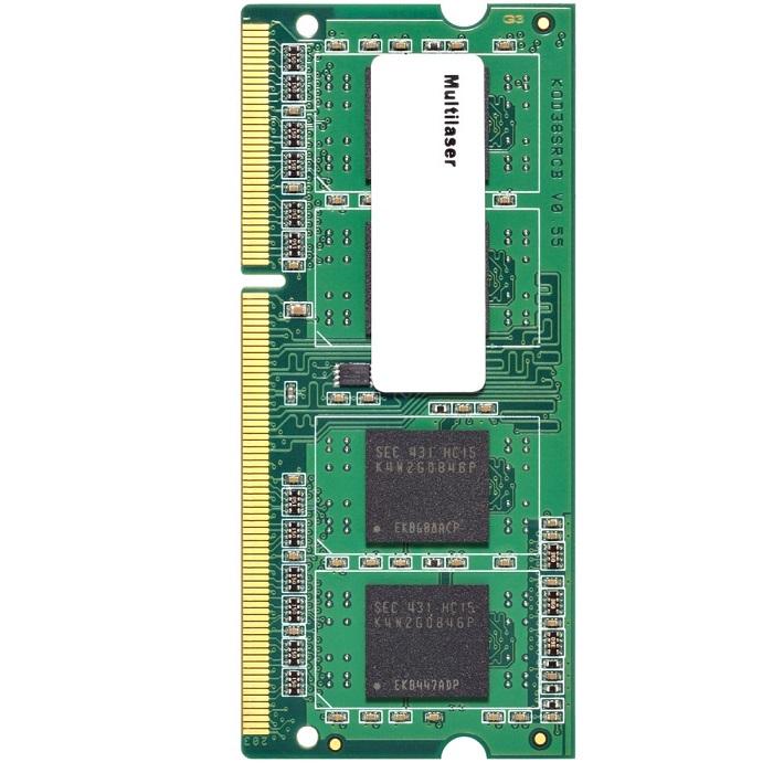 Memória para Notebook 8GB 1600Mhz DDR3 CL11 MM820 - Multilaser