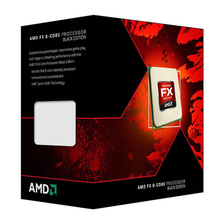 Processador AM3+ FX 8320E Octa Core, Black Edition, Cache 16MB, 3.2GHz FD832EWMHKBOX - AMD