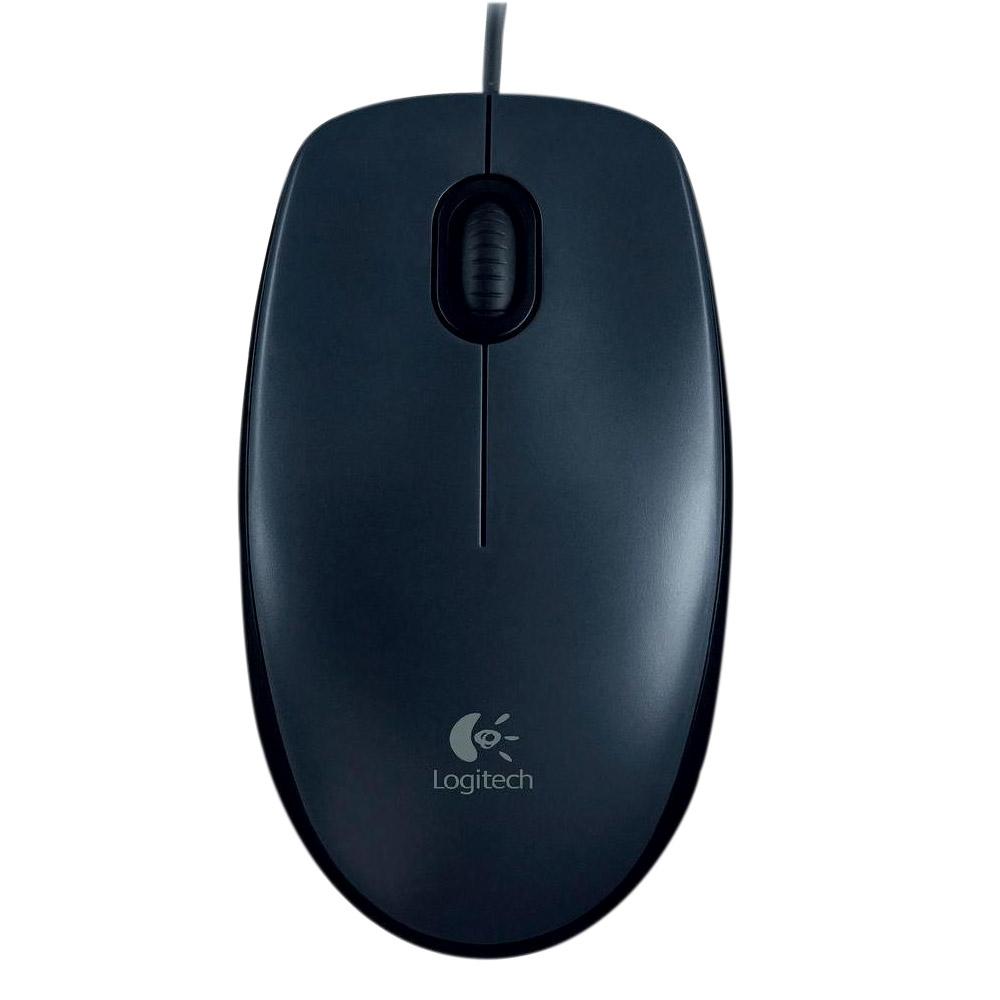 Mouse Óptico USB M90 Preto - Logitech
