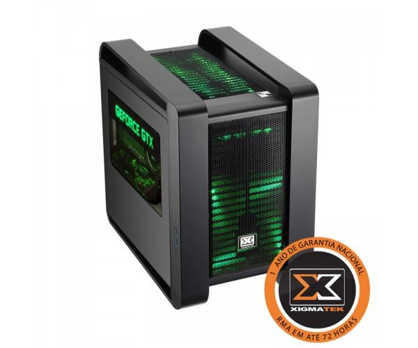 Gabinete ATX Aquila Nvidia Edition Preto EN7333 - Xigmatek