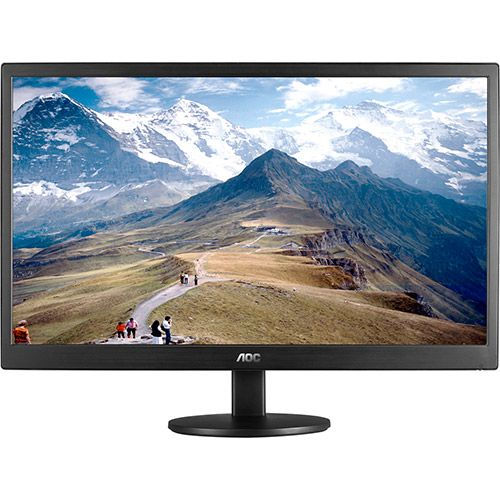 Monitor Led 21.5 Polegadas Widescreen VGA E2270SWN - AOC