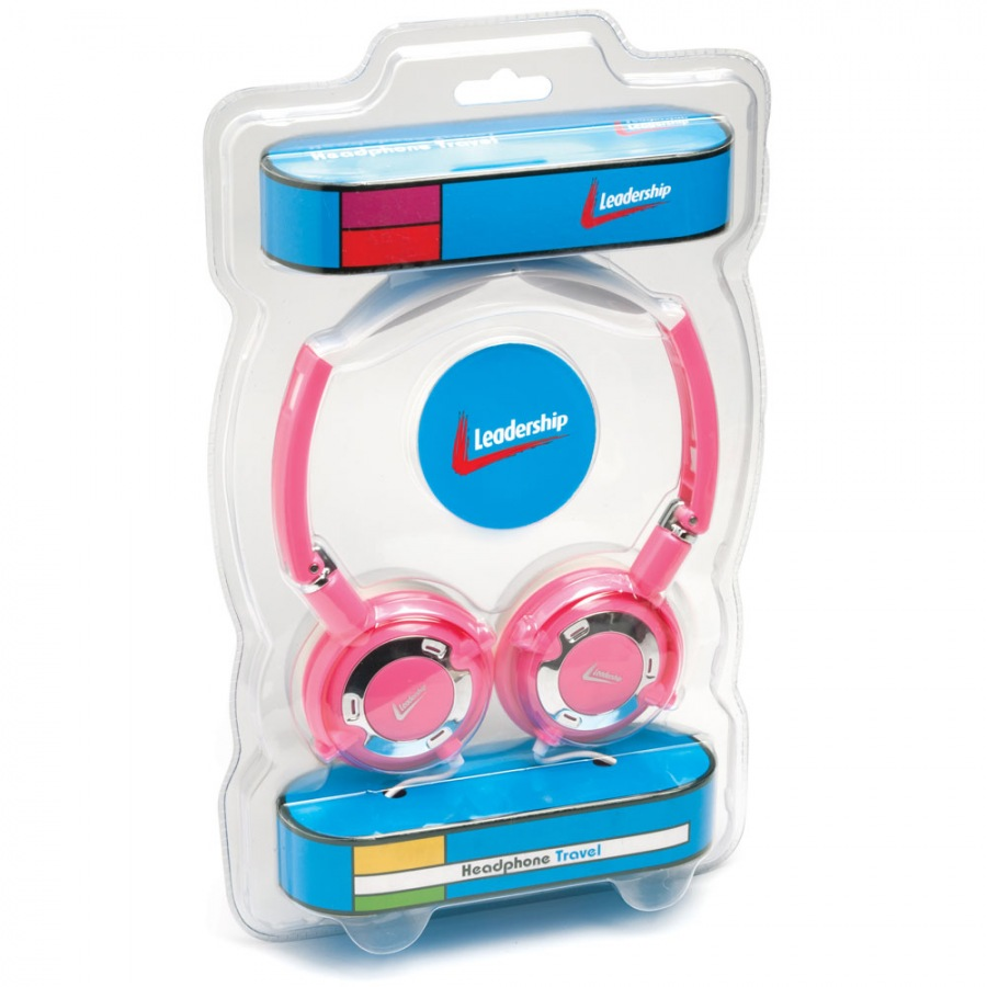 Headphone Travel Rosa 2767 - Leadership
