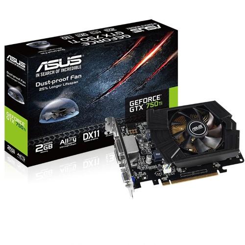 Placa de Vídeo Geforce GTX750 Ti 2GB DDR5 128Bits GTX750TI-PH-2GD5 - Asus