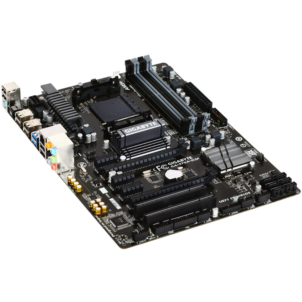Placa Mãe AM3+ GA-970A-D3P CrossfireX DualBios (S/V/R) - Gigabyte