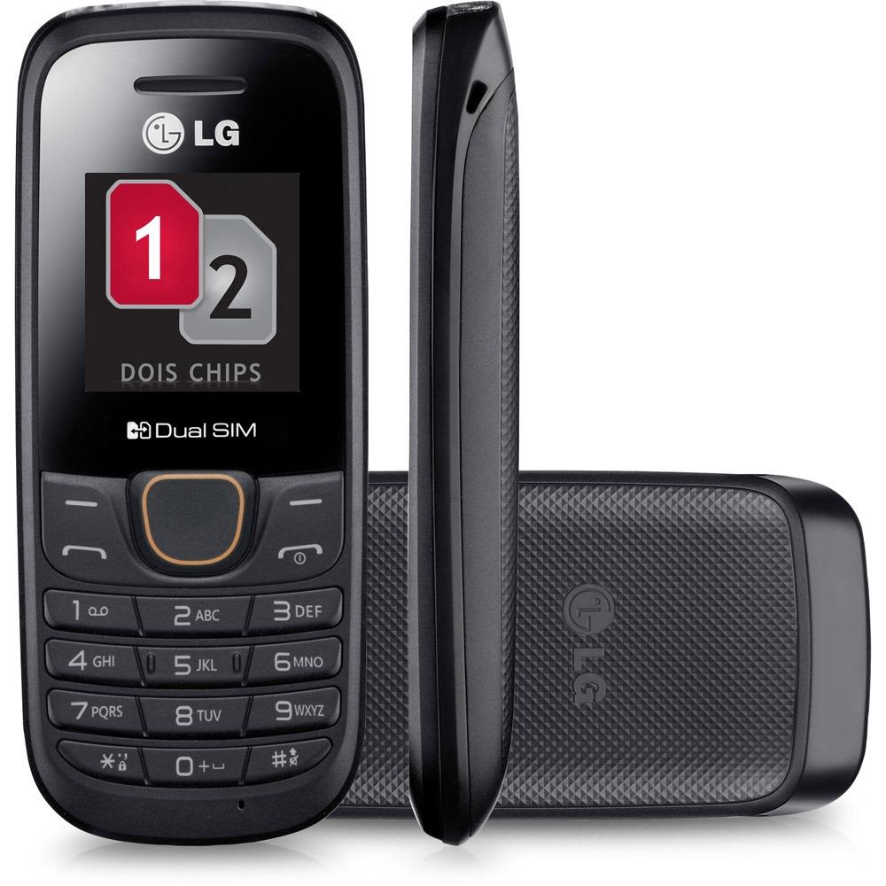 Celular Dual Chip A275 Radio FM e Viva Voz Preto