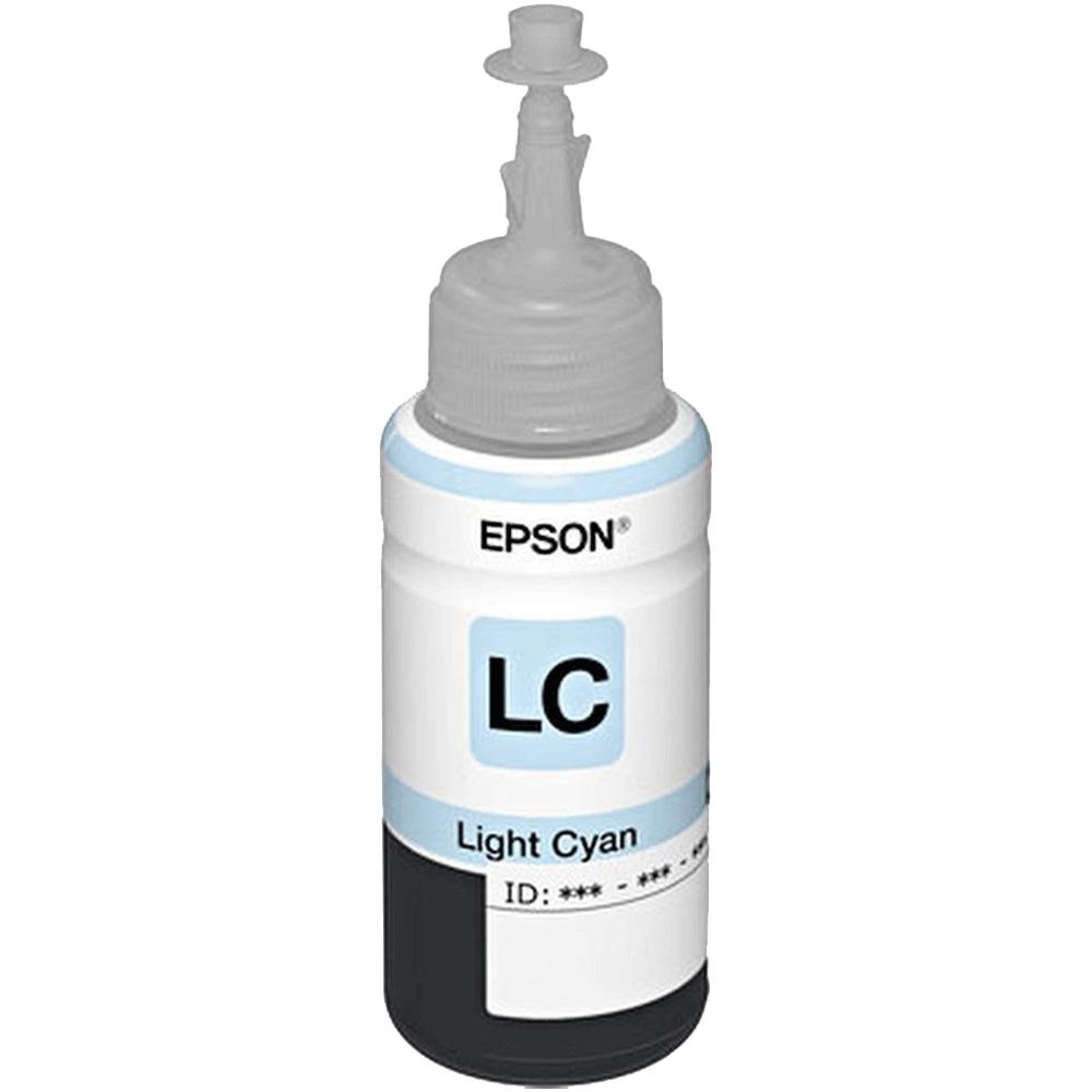 Refil de Tinta T673520-AL Ciano Claro para L800/L1800 - Epson