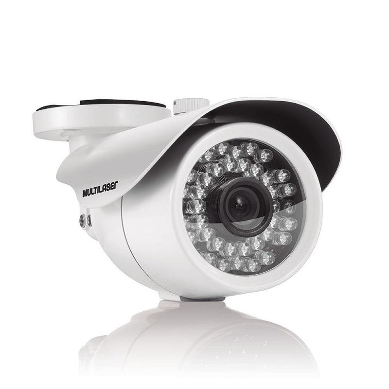 Câmera Bullet Ahd 1080p 3.6mm 24 Leds Branca SE175 - Multilaser