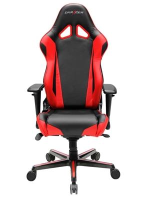 Cadeira R-Series RV001/NR Black/Red - DXRacer