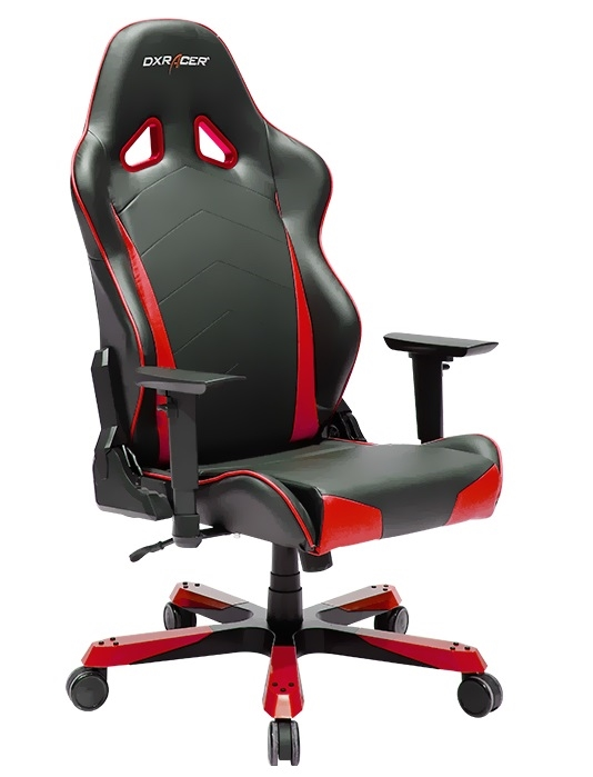 Cadeira Tank Series TC29/NR Black/Red - DXRacer