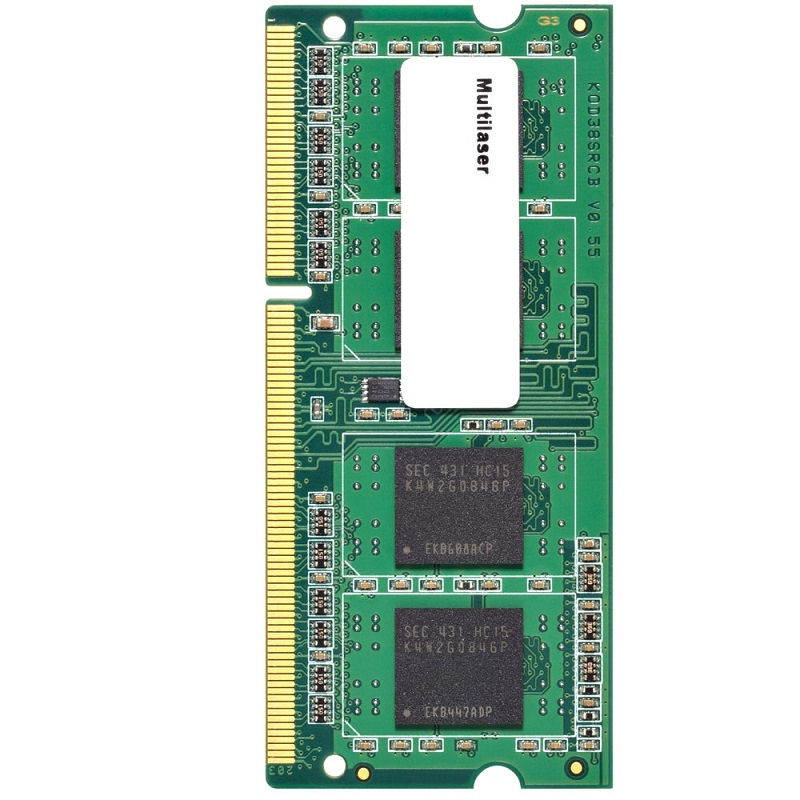 Memória 4GB 1600Mhz DDR3 para Notebook CL11 MM420 - Multilaser