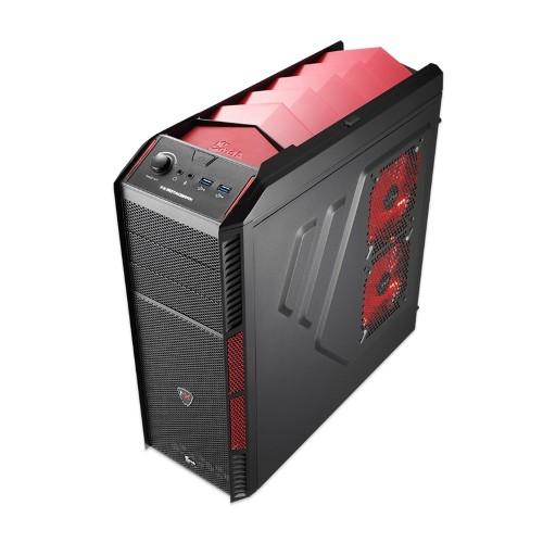 Gabinete ATX sem Fonte Xpredator X1 Devil Red EN57066 - Aerocool