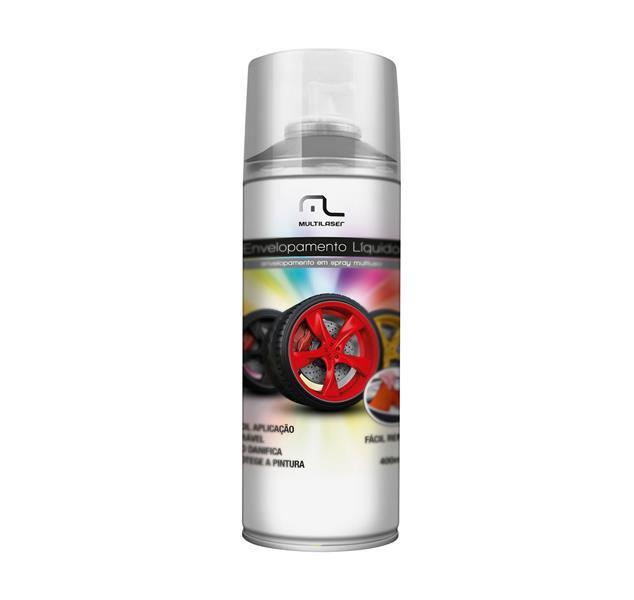 Spray Envelopamento Liquido Prata 400ml AU423 - Multilaser