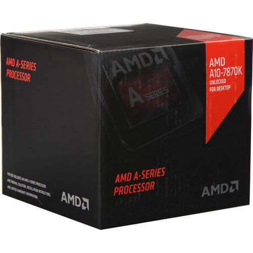 Processador FM2 A10 7870K 3.9Ghz Black Edition AD787KXDJCSBX Box - AMD