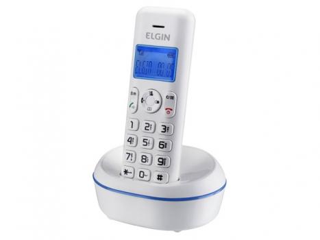 Telefone Sem Fio 1.9 GHz Identificador de Chamadas - Viva-Voz TSF5001 - Elgin