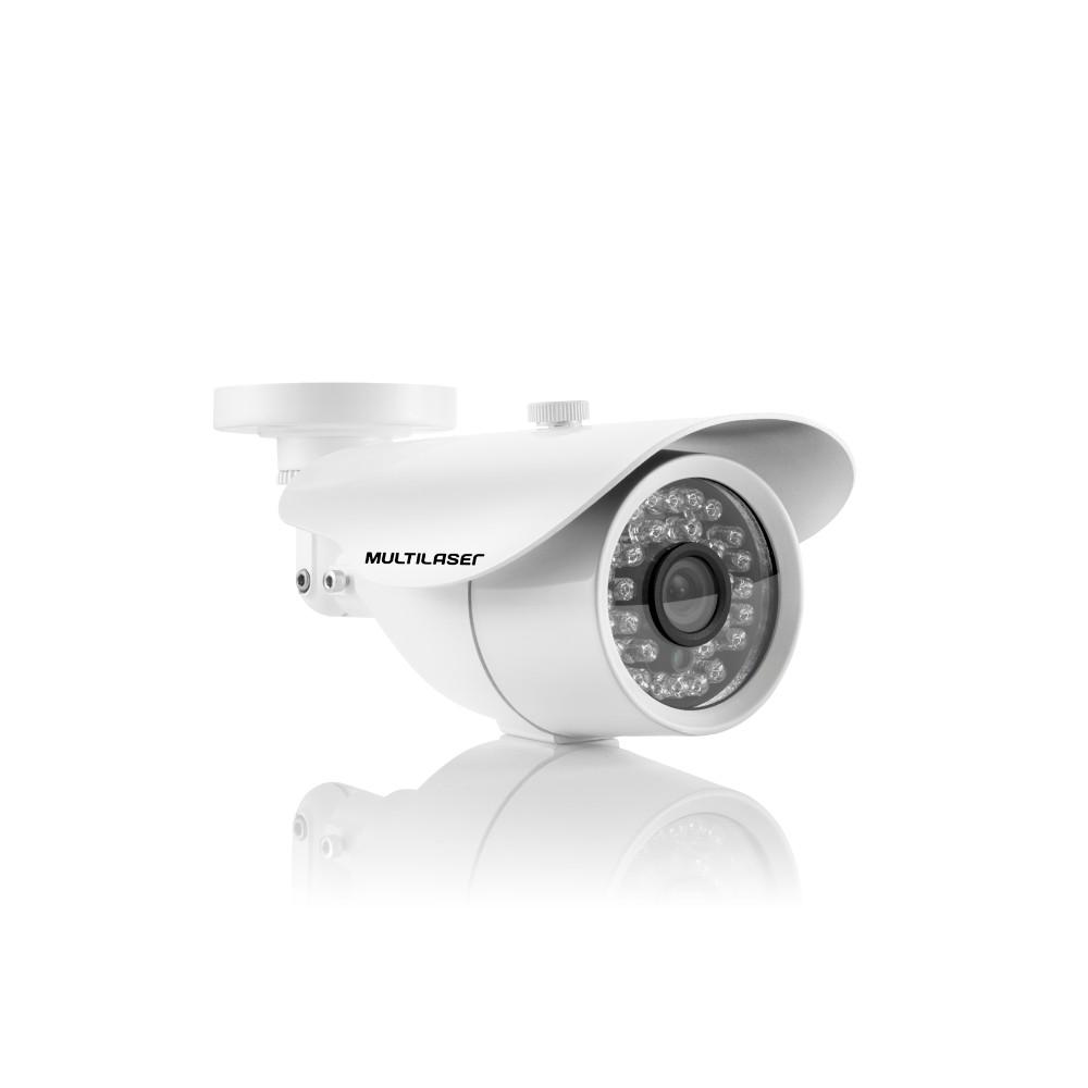 Camera de Seguranca Bullet AHD 1080P 3.6mm - 36 Leds Branca SE171 - Multilaser