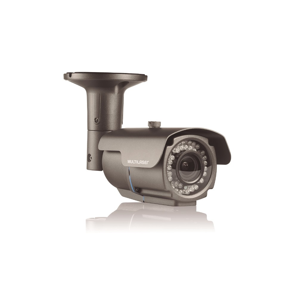 Camera Bullet Varifocal 1080P -2.8Mm-12Mm - 72 Leds Chumbo SE172 - Multilaser