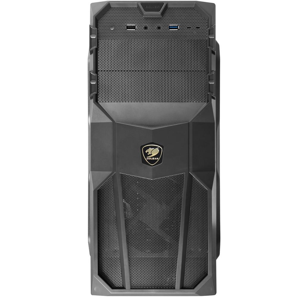Gabinete Micro ATX USB 3.0 Preto 5MS9 sem Fonte MX200 - Cougar