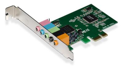 Placa de Som 5.1 PCI-E GA140 - Multilaser