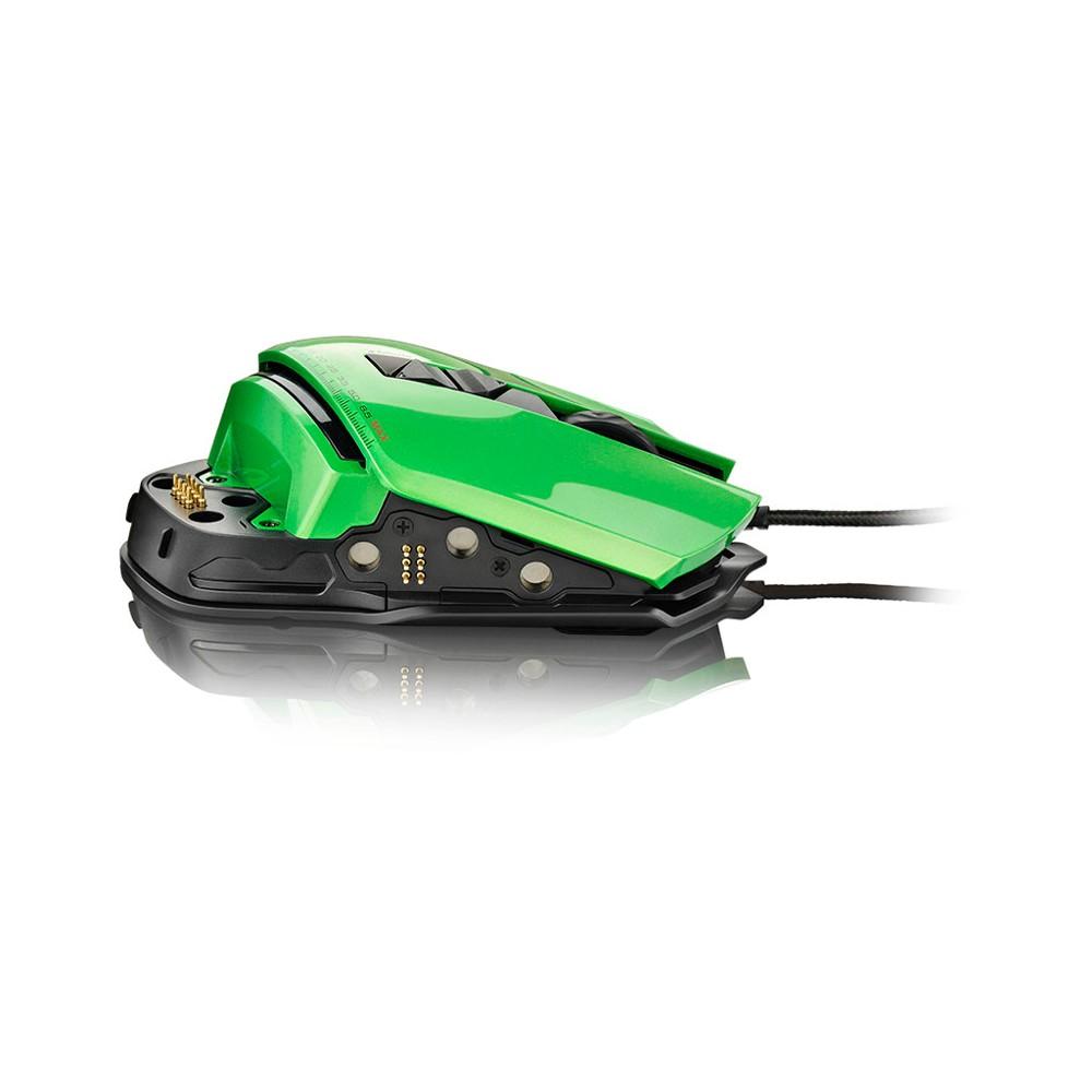 Mouse Gamer Warrior 8200 DPI MO247 (54 Tipos de Combinação) - Multilaser