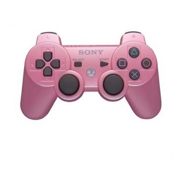 Controle Dualshock Wireless Rosa PS3 Box (CECHZC2U/CECHZC2H) - Sony