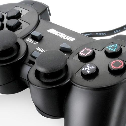 Joystick JS029 Usb Preto para PS2 - Multilaser