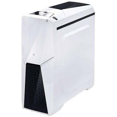 Gabinete Mid Tower Cyclone VX Gamer Branco 22608 - Vinik