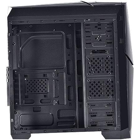 Gabinete Mid Tower Cyclone VX Gamer Preto 22607 - Vinik