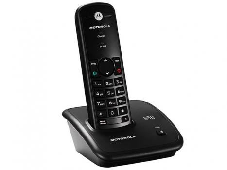 Telefone Sem Fio FOX500 Dect Digital - Motorola