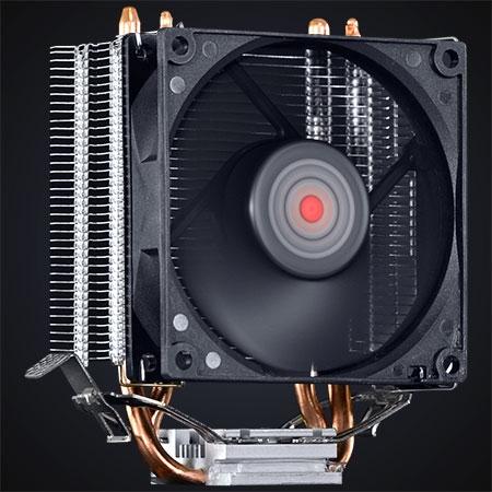 Cooler para Processador Zero KZ1 80mm ACZK180 24040 - Pcyes