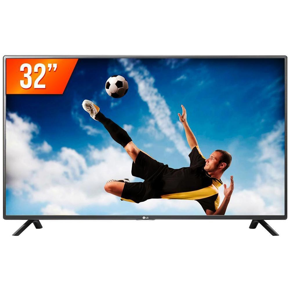 TV Led HD 32 com USB, HDMI 32LW300C - LG