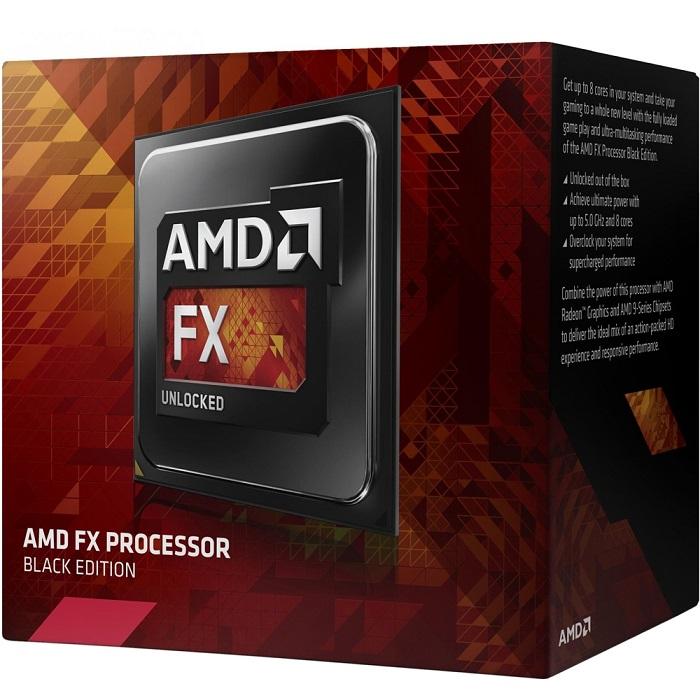 Processador AM3+ FX 4300, Black Edition, Cache 8Mb, 3.8GHz FD4300WMHKBOX - AMD