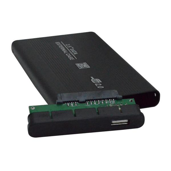 Case 2.5 para HD Sata, USB 2.0 Externo CS0026CH - OEM