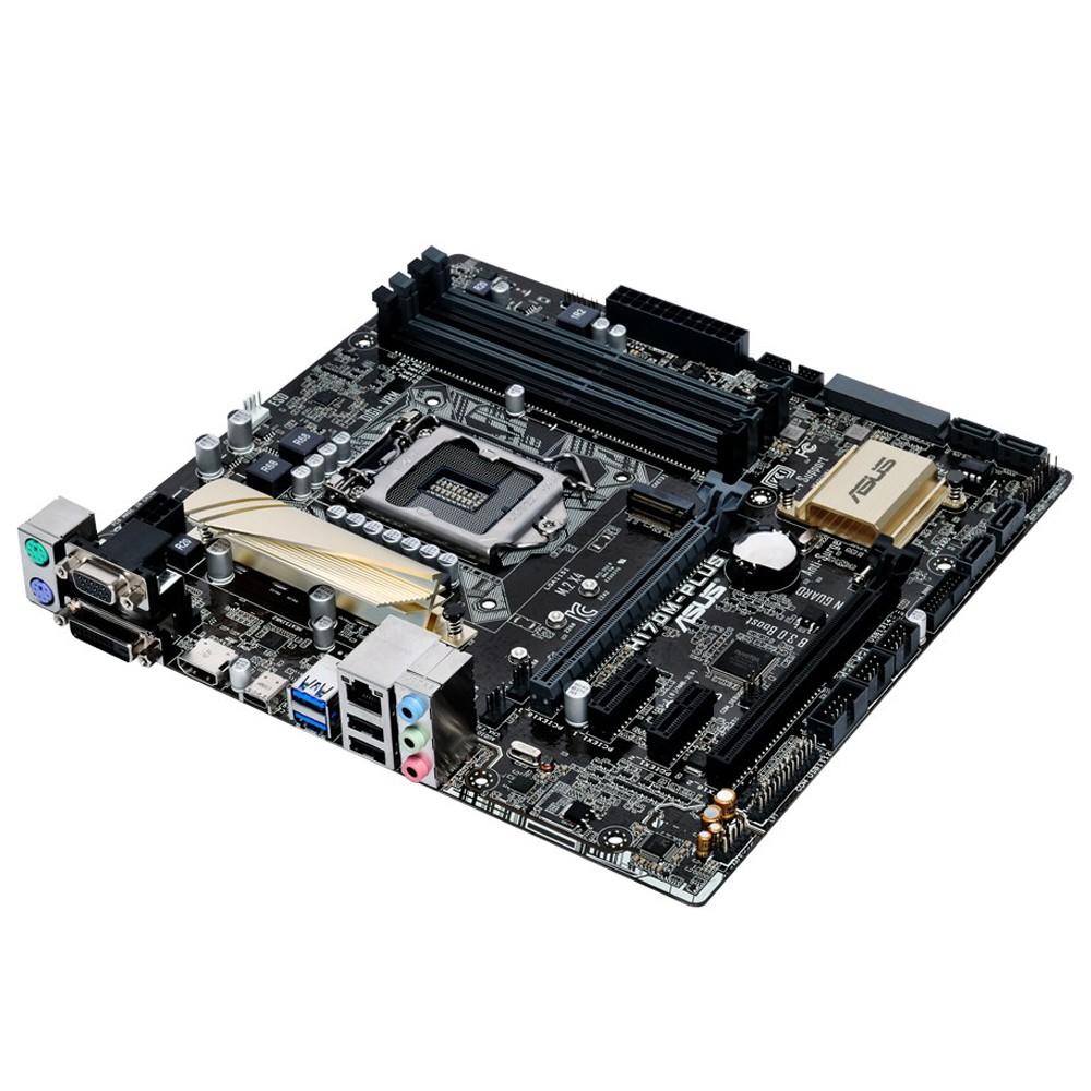Placa Mãe LGA 1151 H170M-Plus/BR DDR4 - Asus
