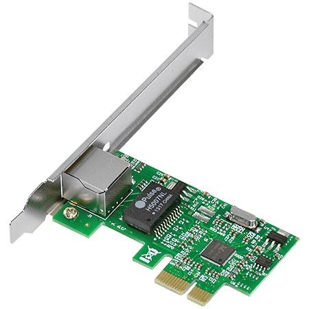 Placa de Rede 10/100/1000 PCI-E PRV1000E com suporte Low Profile 26261 - Vinik