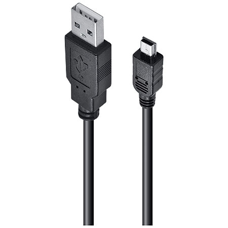 Cabo 2.0 USB A Macho x Mini USB Macho 2 Metros UAM5P-2 23565 - Vinik