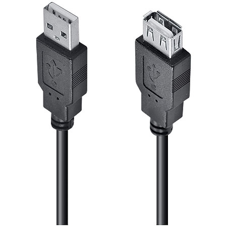 Cabo Extensor USB 2.0 A Macho x USB A Fêmea 5 Metros UAMAF-5 23564 - Vinik