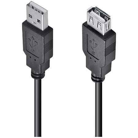 Cabo Extensor USB 2.0 Macho x USB Fêmea 3 Metros UAMAF-3 23563 - Vinik3563 - Vinik