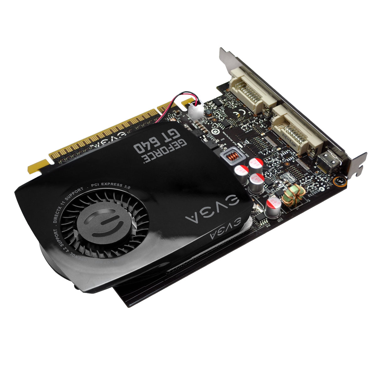Placa de Video GeForce GT640 4GB DDR3 128Bits 04G-P4-2647-KR - EVGA