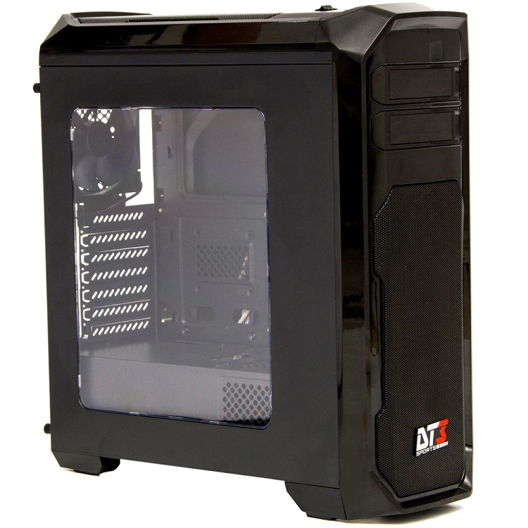 Gabinete ATX Triton Preto USB 3.0 10379-0 - DT3 Sports