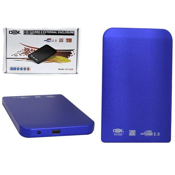 Case USB 2.0 Azul 2,5 DX-2520 CS0030 - Dex