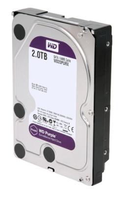 HD 2TB 64MB Sata III Purple Surveillance WD20PURX - Western Digital