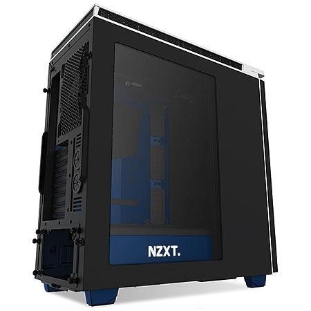 Gabinete Mid Tower H440 Envyus Edition Preto/Azul CA-H442W-EN - NZXT